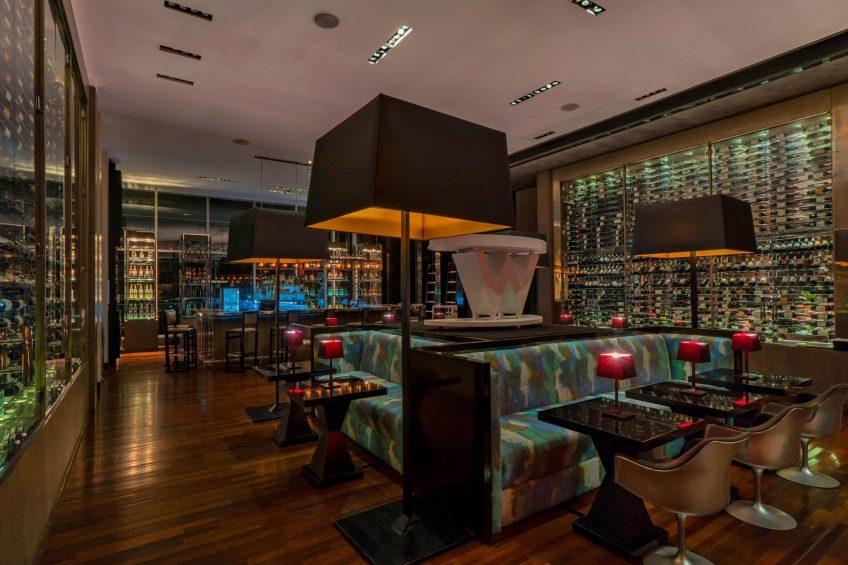 W Santiago Luxury Hotel - Santiago, Chile - W Lounge Dining Tables
