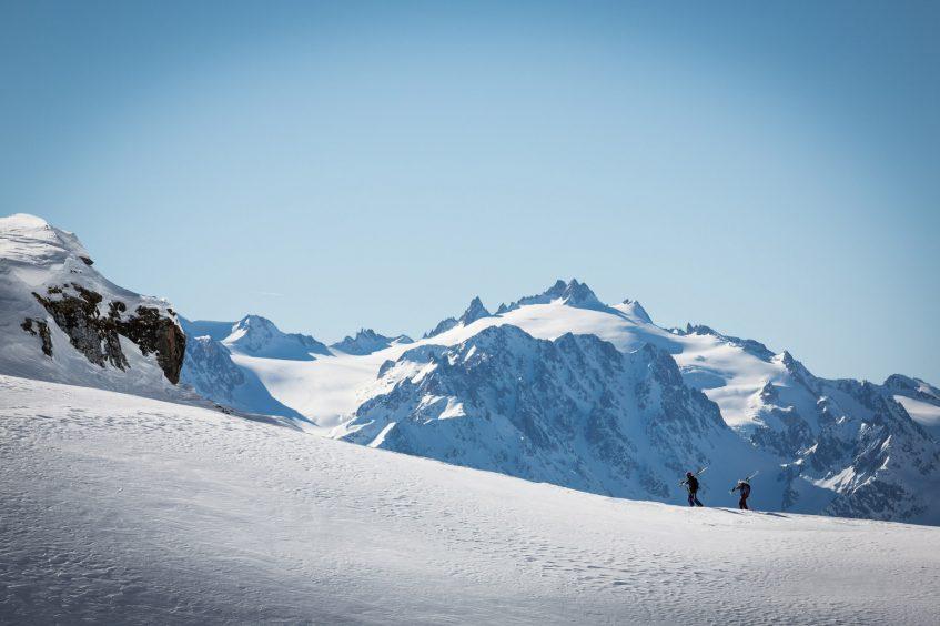 W Verbier Luxury Hotel - Verbier, Switzerland - Skiing Mountain Views