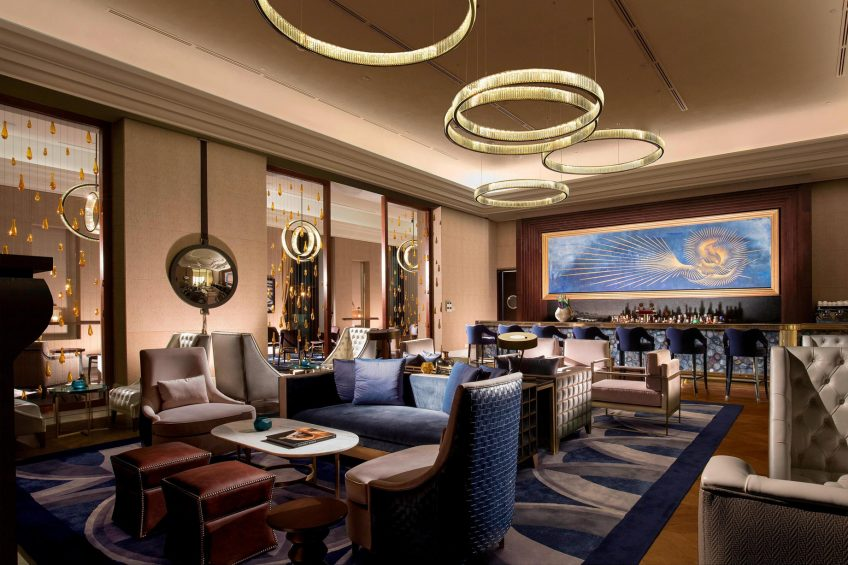 The St. Regis Astana Luxury Hotel - Astana, Kazakhstan - The St. Regis Bar