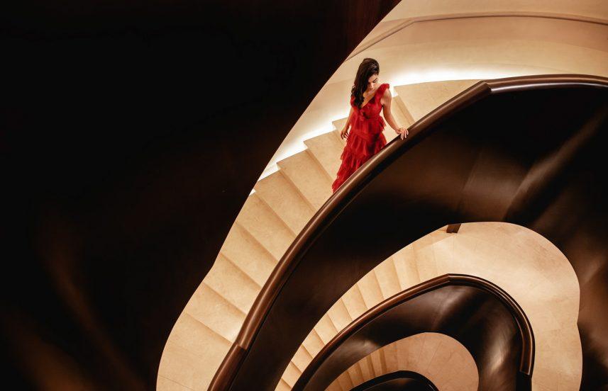 The St. Regis Cairo Luxury Hotel - Cairo, Egypt - Signature Grand Staircase