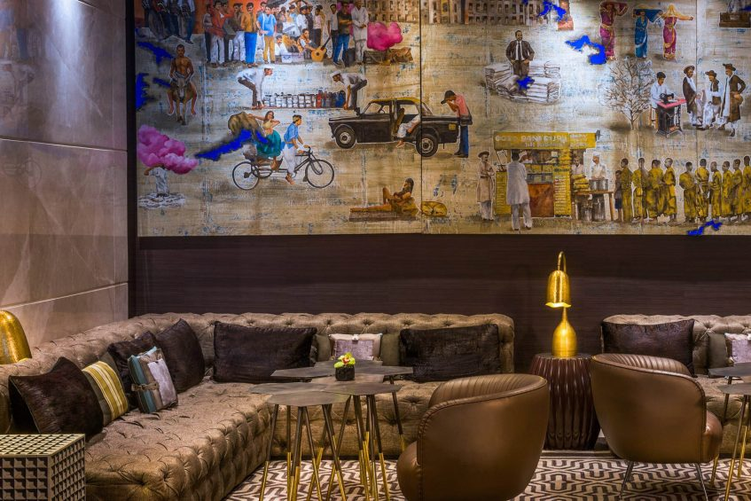 The St. Regis Mumbai Luxury Hotel - Mumbai, India - Drawing Room