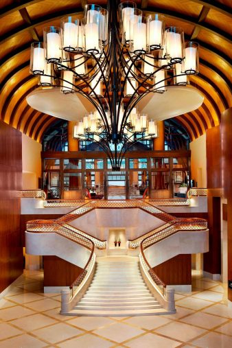 The St. Regis Sanya Yalong Bay Luxury Resort - Hainan, China - Grand Staircase