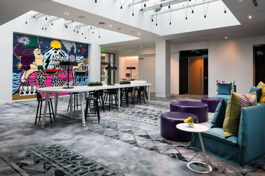 W Bellevue Luxury Hotel - Bellevue, WA, USA - Pre Function