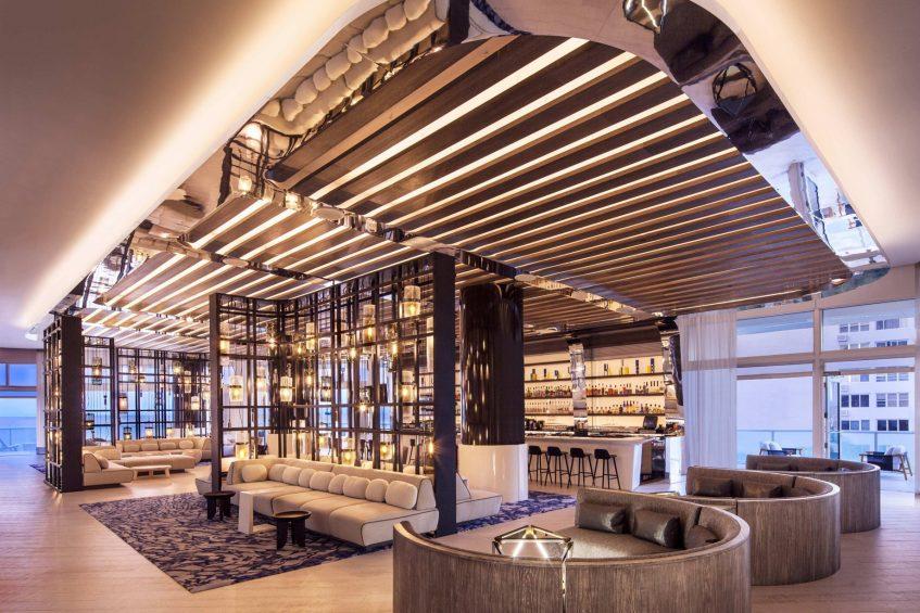 W Fort Lauderdale Luxury Hotel - Fort Lauderdale, FL, USA - Living Room Glow