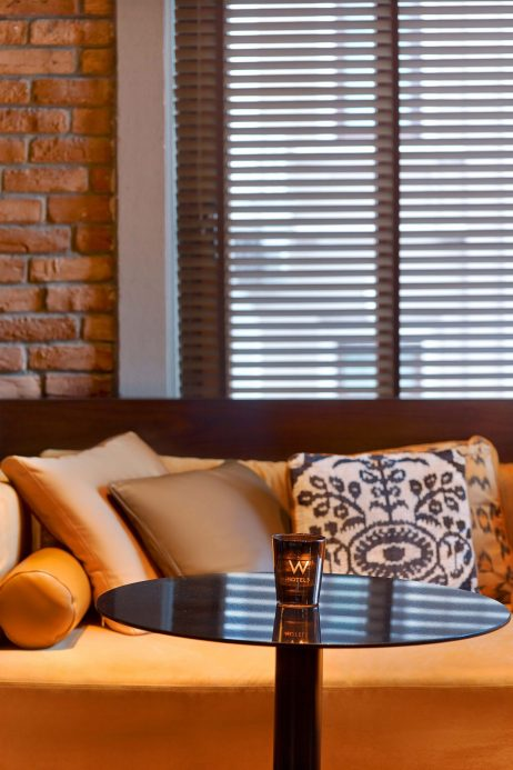 W Istanbul Luxury Hotel - Istanbul, Turkey - W Lounge Table