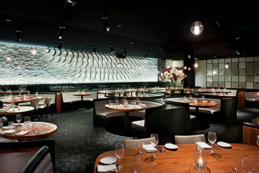 W Los Angeles West Beverly Hills Luxury Hotel - Los Angeles, CA, USA - STK Los Angeles Dining Room