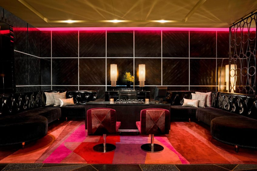 W Minneapolis The Foshay Luxury Hotel - Minneapolis, MN, USA - Lobby Concierge