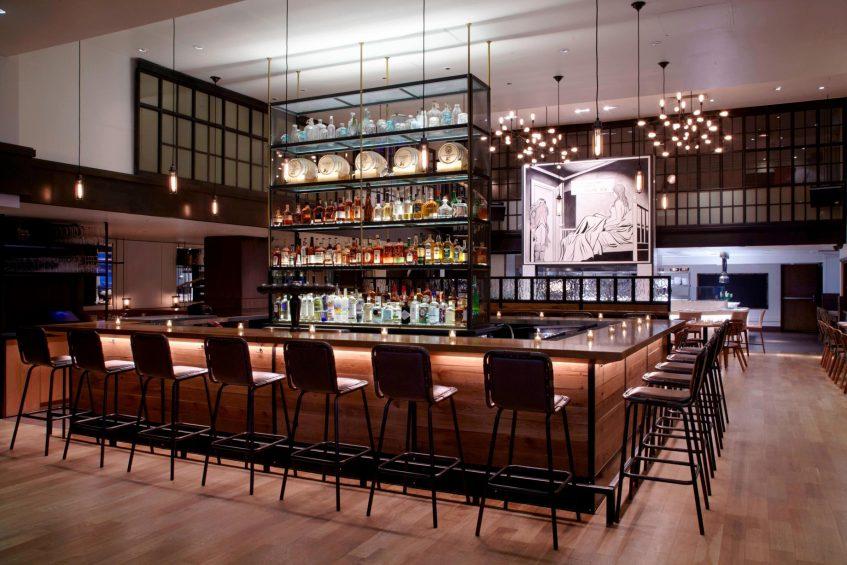 W New York Union Square Luxury Hotel - New York, NY, USA - Irvington Bar