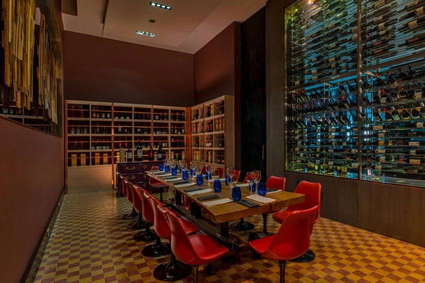 W Santiago Luxury Hotel - Santiago, Chile - Wine Lab
