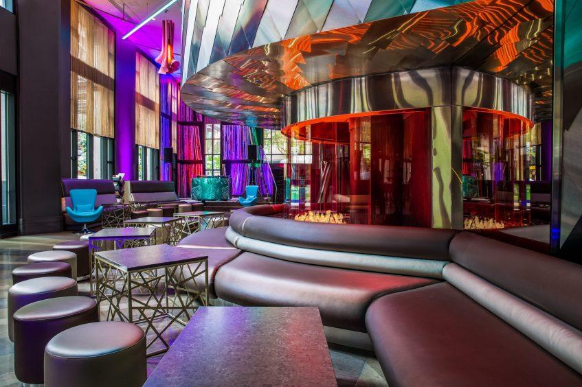 W Seattle Luxury Hotel - Seattle, WA, USA - Living Room Decor