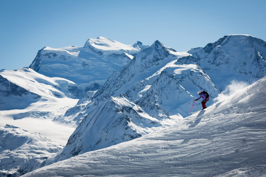 W Verbier Luxury Hotel - Verbier, Switzerland - Skiing Mountains