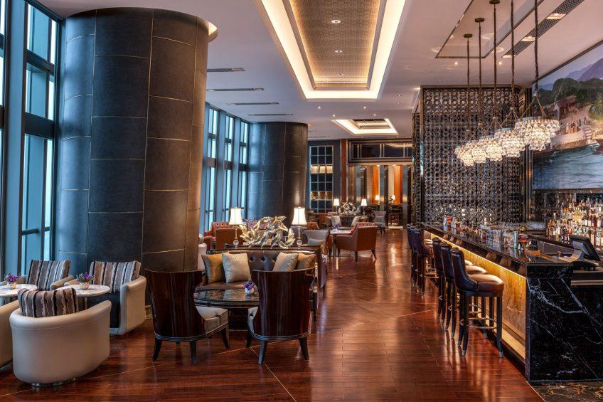 The St. Regis Zhuhai Luxury Hotel - Zhuhai, Guangdong, China - The St. Regis Bar Seating