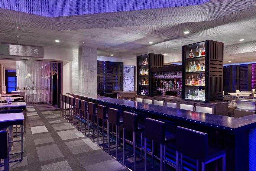 W San Francisco Luxury Hotel - San Francisco, CA, USA - Living Room Bar