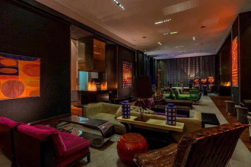 W Santiago Luxury Hotel - Santiago, Chile - W Lounge With Noso Restaurant