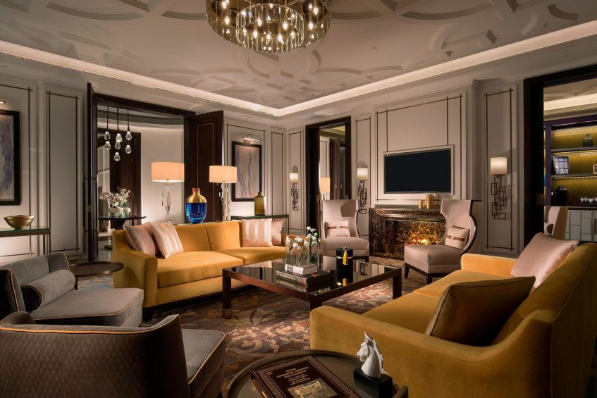 The St. Regis Astana Luxury Hotel - Astana, Kazakhstan - Presidential Suite Living Room