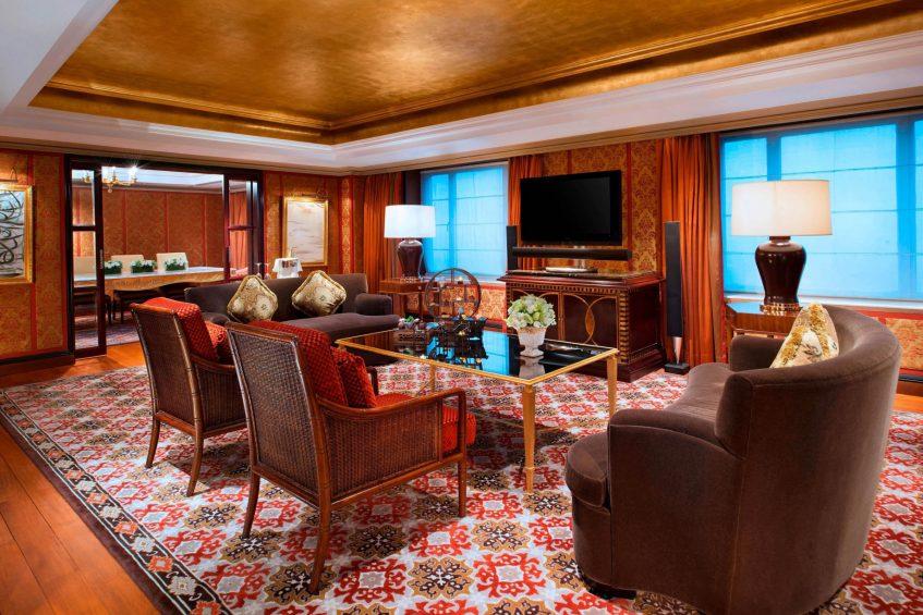 The St. Regis Beijing Luxury Hotel - Beijing, China - Presidential Suite Dining Room