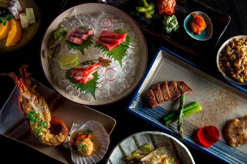 The St. Regis Changsha Luxury Hotel - Changsha, China - Un Restaurant Food Plates
