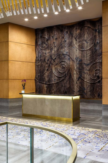 The St. Regis Macao Luxury Hotel - Cotai, Macau SAR, China - Lobby Concierge Desk