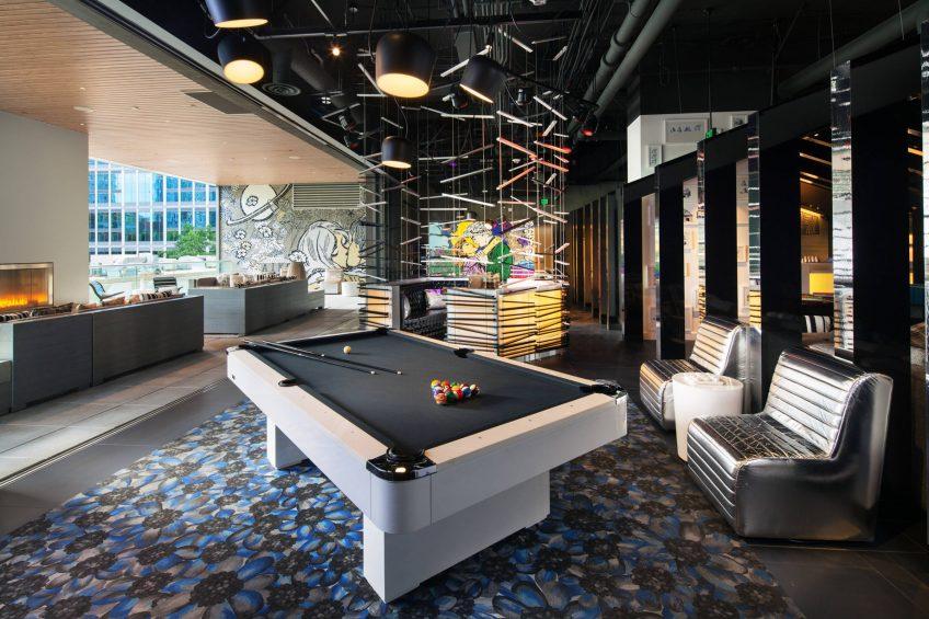 W Bellevue Luxury Hotel - Bellevue, WA, USA - Pool Room