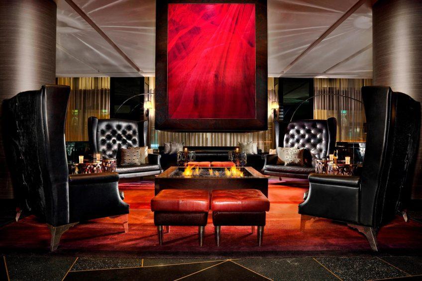 W Minneapolis The Foshay Luxury Hotel - Minneapolis, MN, USA - Living Room Seating