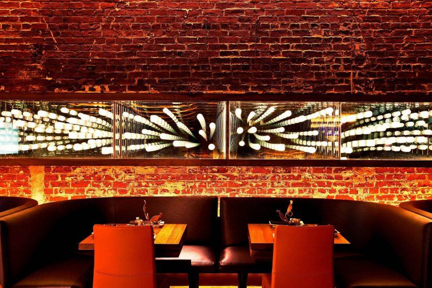 W New Orleans French Quarter Luxury Hotel - New Orleans, LA, USA - Sobou Restaurant Decor