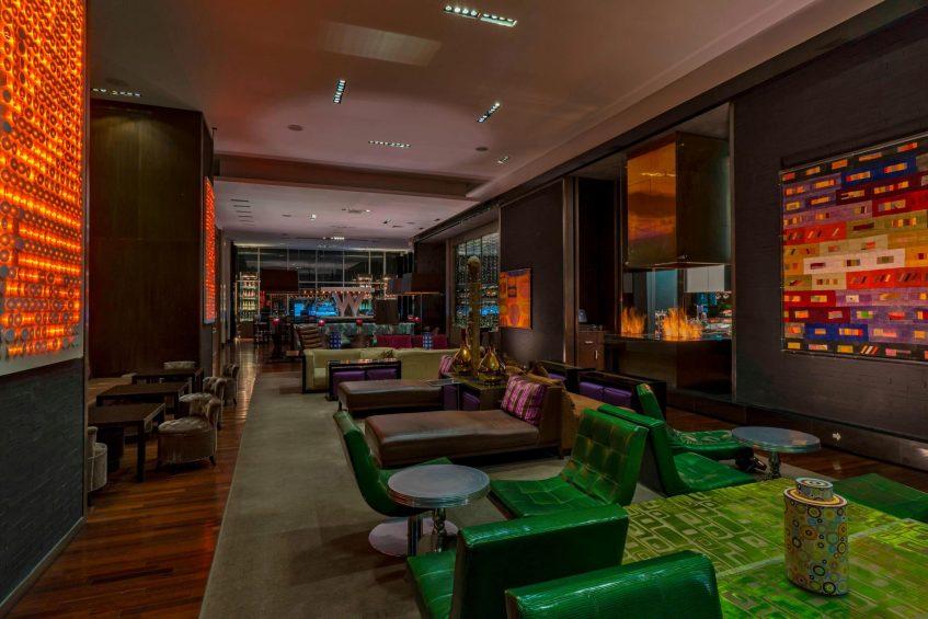 W Santiago Luxury Hotel - Santiago, Chile - W Lounge
