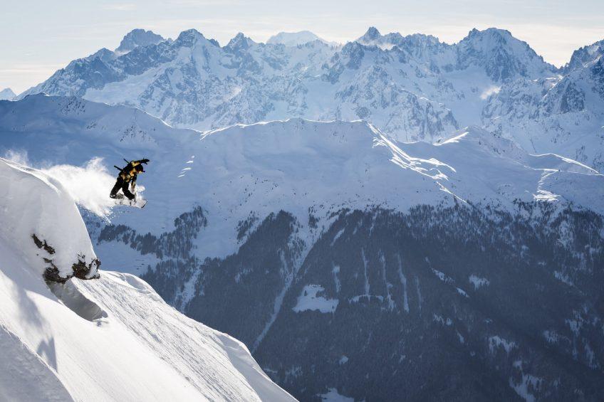 W Verbier Luxury Hotel - Verbier, Switzerland - Snowboarding