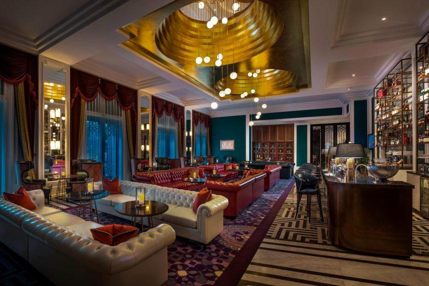 The St. Regis Shanghai Jingan Luxury Hotel - Shanghai, China - St. Regis Bar