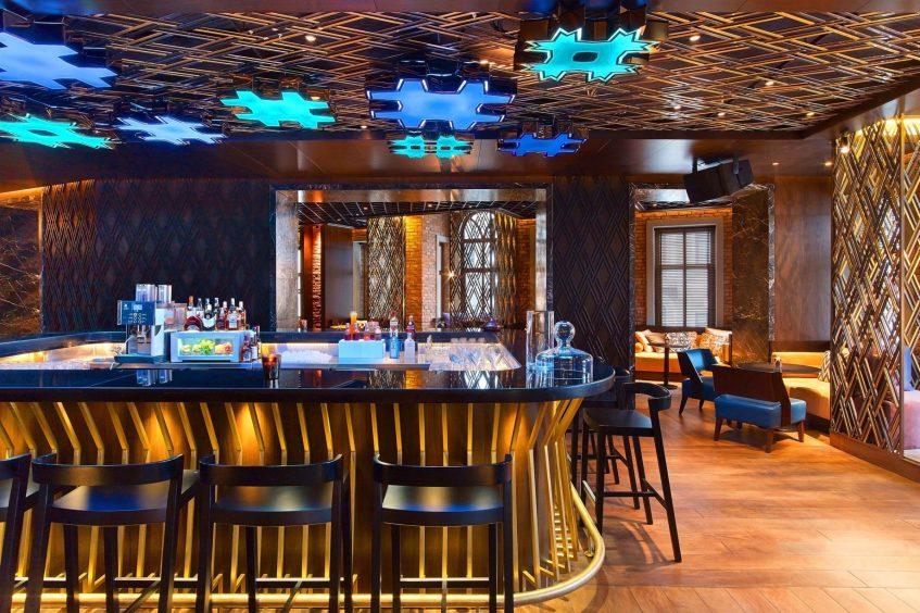 W Istanbul Luxury Hotel - Istanbul, Turkey - W Lounge Decor