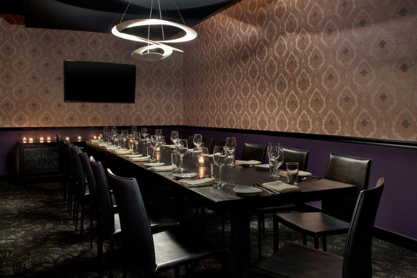 W Los Angeles West Beverly Hills Luxury Hotel - Los Angeles, CA, USA - STK Los Angeles Private Dining Room
