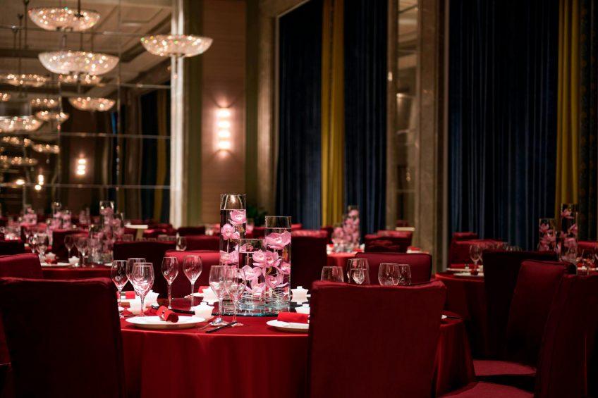 The St. Regis Shanghai Jingan Luxury Hotel - Shanghai, China - Function Room Chinese Wedding