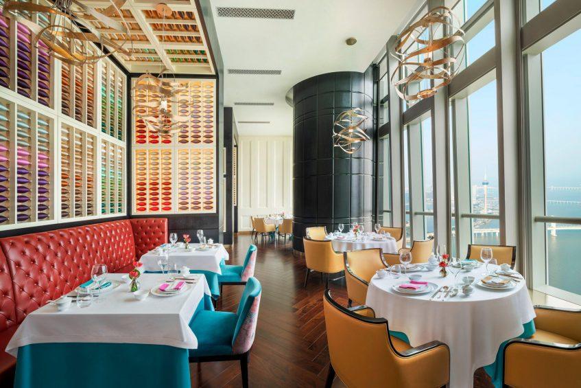 The St. Regis Zhuhai Luxury Hotel - Zhuhai, Guangdong, China - Yan Ting Tables