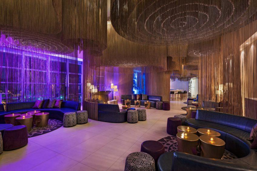 W Bogota Luxury Hotel - Bogota, Colombia - W Lounge Booth Seating