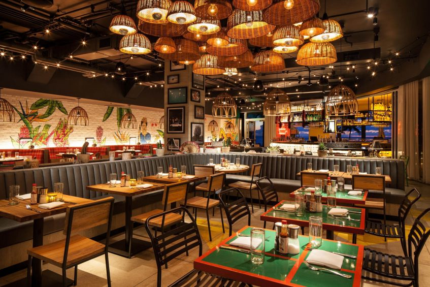 W Fort Lauderdale Luxury Hotel - Fort Lauderdale, FL, USA - El Vez Tables