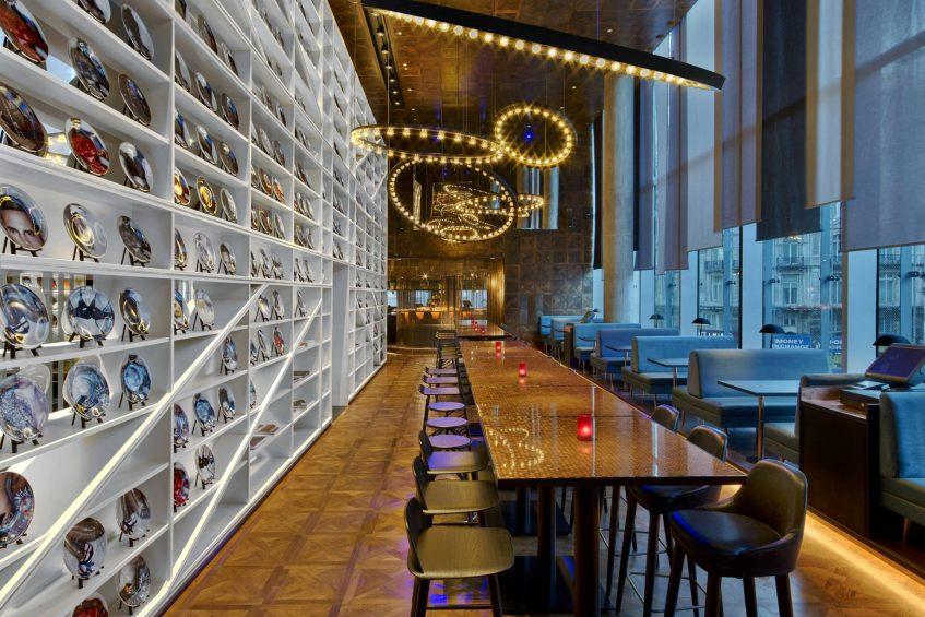 W London Luxury Hotel - London, United Kingdom - The Perception Bar W Lounge