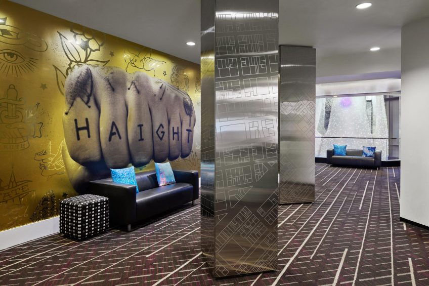 W San Francisco Luxury Hotel - San Francisco, CA, USA - Industry Pre Function