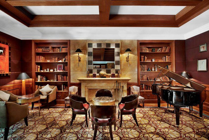 The St. Regis Beijing Luxury Hotel - Beijing, China - Press Club Bar Tables