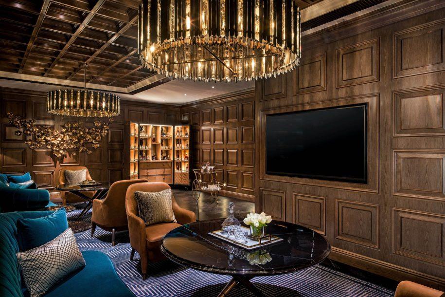 The St. Regis Macao Luxury Hotel - Cotai, Macau SAR, China - The St. Regis Bar Decanter Room