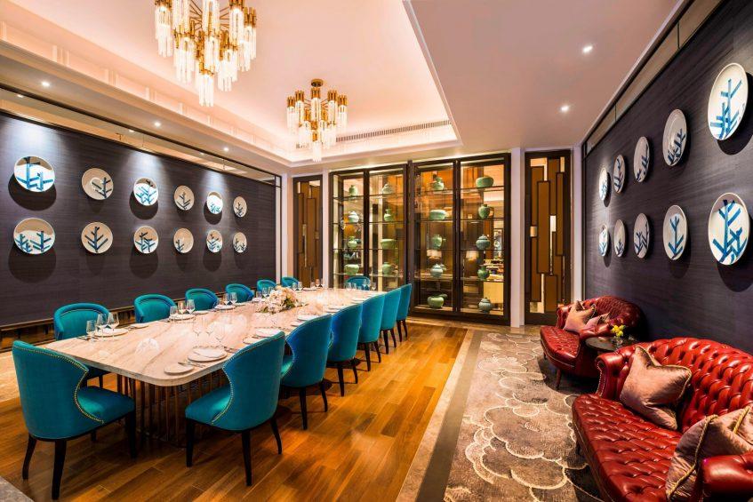 The St. Regis Shanghai Jingan Luxury Hotel - Shanghai, China - Social Restaurant Private Dining Room