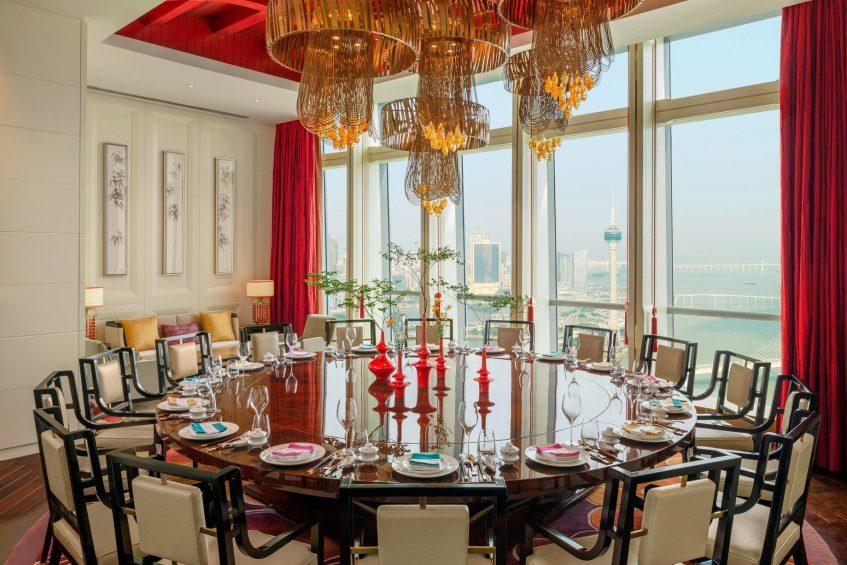 The St. Regis Zhuhai Luxury Hotel - Zhuhai, Guangdong, China - Yan Ting