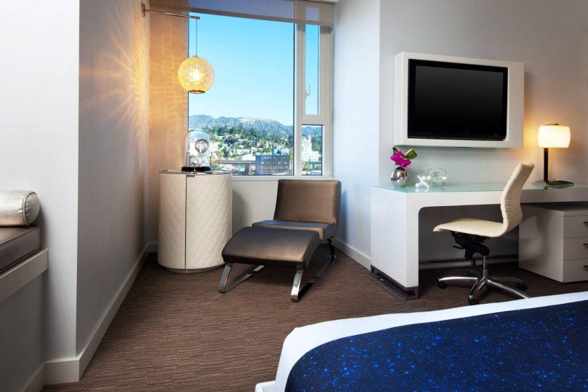 W Hollywood Luxury Hotel - Hollywood, CA, USA - Cool Corner Room