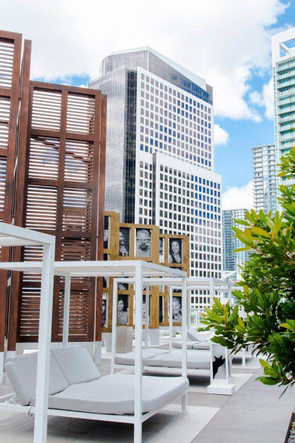 W Miami Luxury Hotel - Miami, FL, USA - WET Deck Cabanas