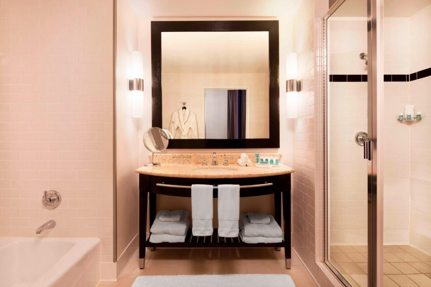 W New York Union Square Luxury Hotel - New York, NY, USA - Wow Suite Bathroom