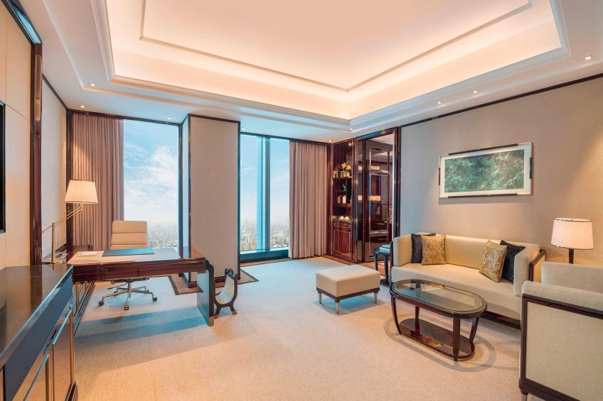 The St. Regis Changsha Luxury Hotel - Changsha, China - Caroline Astor Suite Living Room
