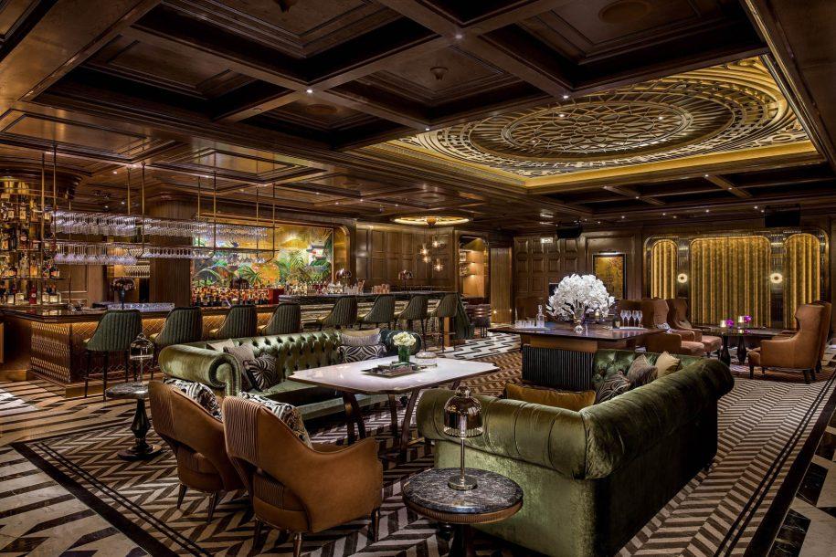 The St. Regis Macao Luxury Hotel - Cotai, Macau SAR, China - The St. Regis Bar Lounge