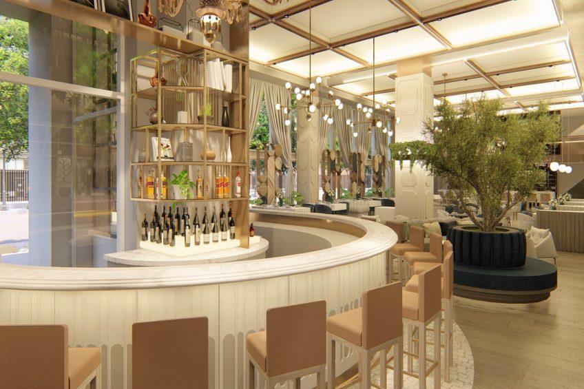 W Dallas Victory Luxury Hotel - Dallas, TX, USA - Villa Azur Bar