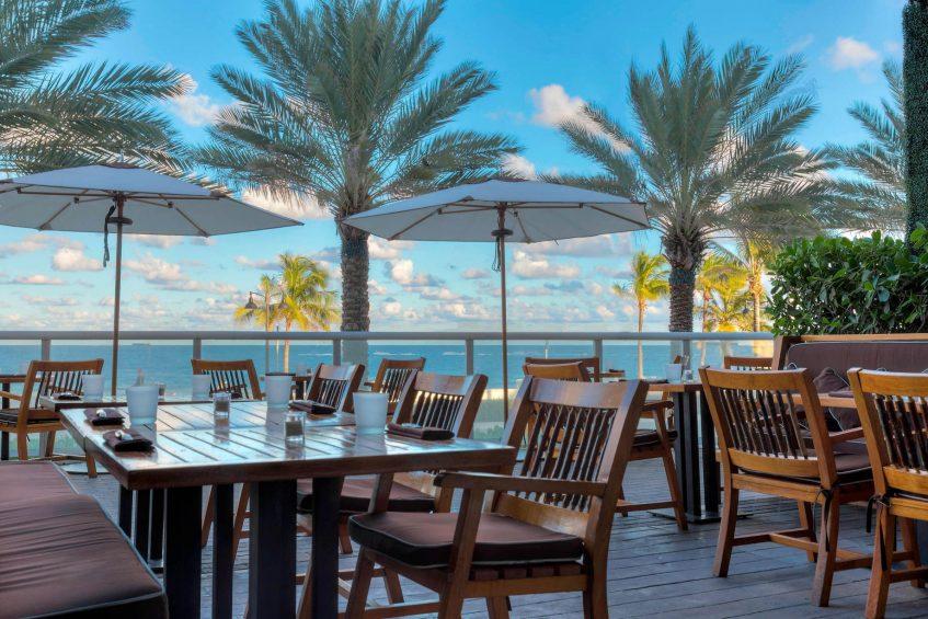 W Fort Lauderdale Luxury Hotel - Fort Lauderdale, FL, USA - Steak 954 Outdoor Patio
