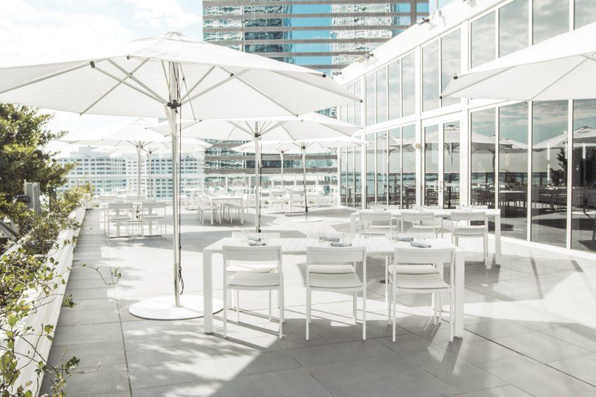 W Miami Luxury Hotel - Miami, FL, USA - ADDiKT Terrace Umbrellas