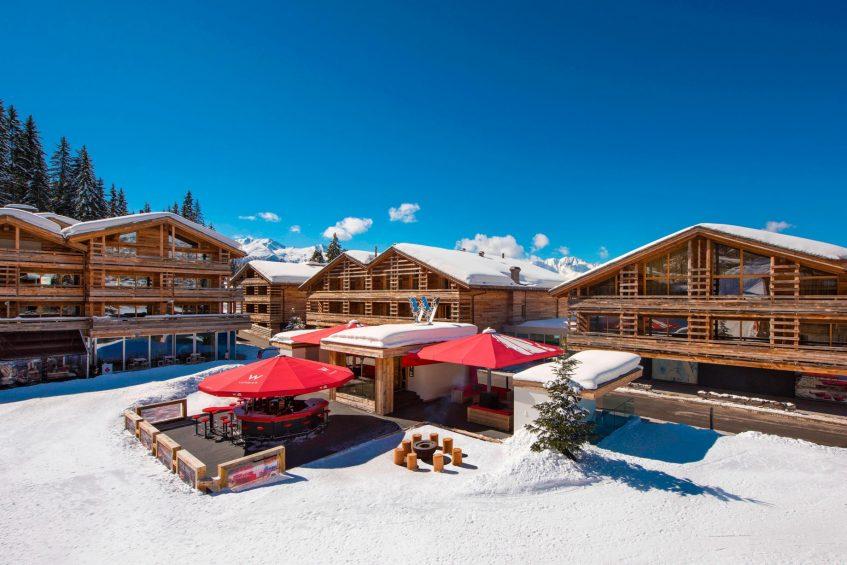 W Verbier Luxury Hotel - Verbier, Switzerland - Exterior Winter