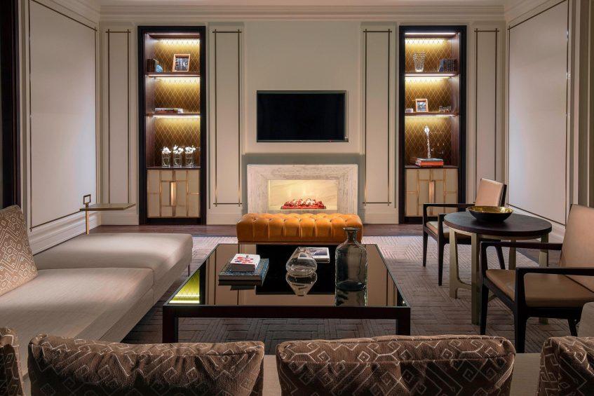 The St. Regis Astana Luxury Hotel - Astana, Kazakhstan - Royal Suite Living Room